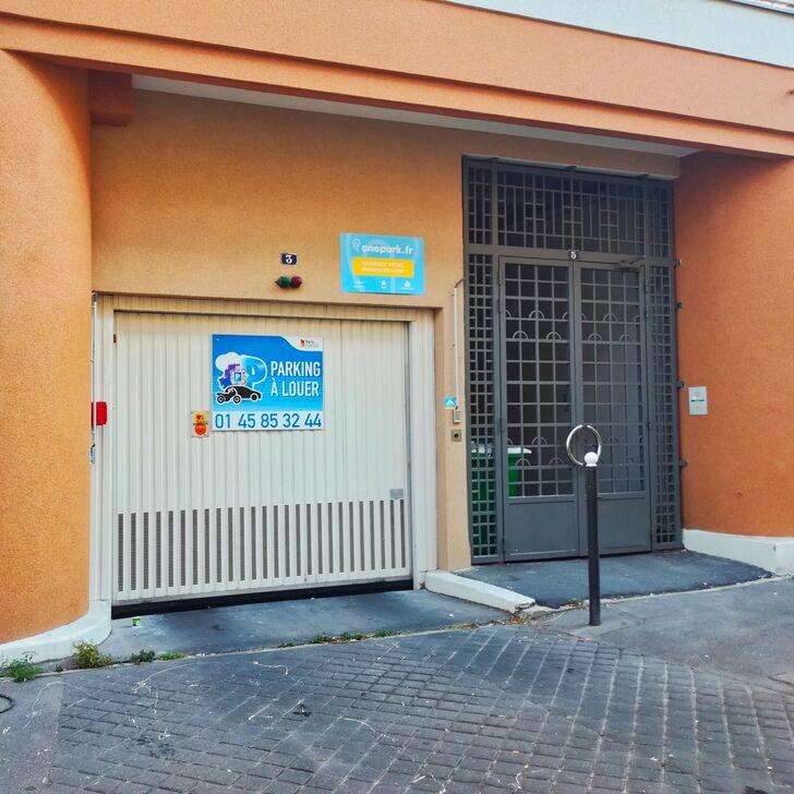 parking immeuble rue pierre gourdault couvert paris place de parking paris onepark. Black Bedroom Furniture Sets. Home Design Ideas