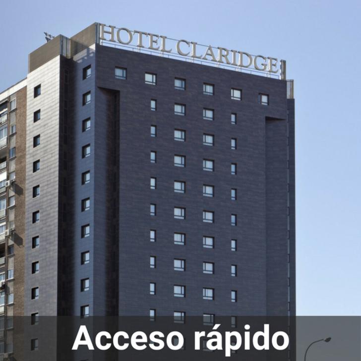Hotel Parkhaus CLARIDGE (Überdacht) Madrid