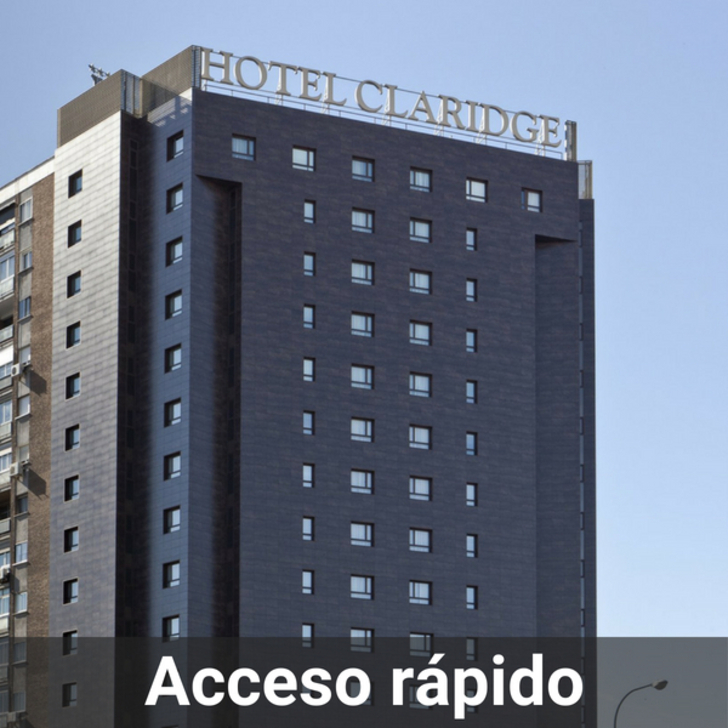 Parcheggio Hotel CLARIDGE (Coperto) Madrid