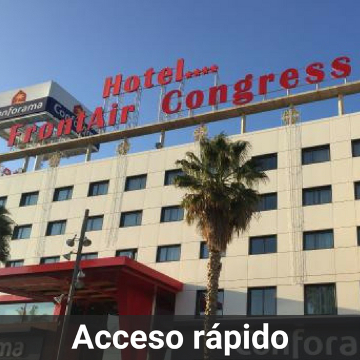 Parking Hotel FRONTAIR CONGRESS BARCELONA (Cubierto) Sant Boi de Llobregat
