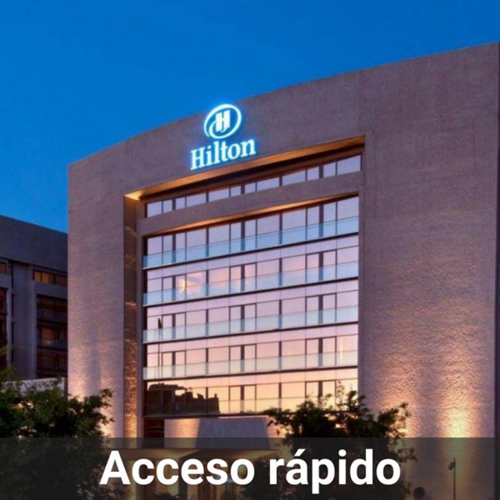 Hotel Parkhaus HILTON MADRID AIRPORT (Überdacht) Parkhaus Madrid