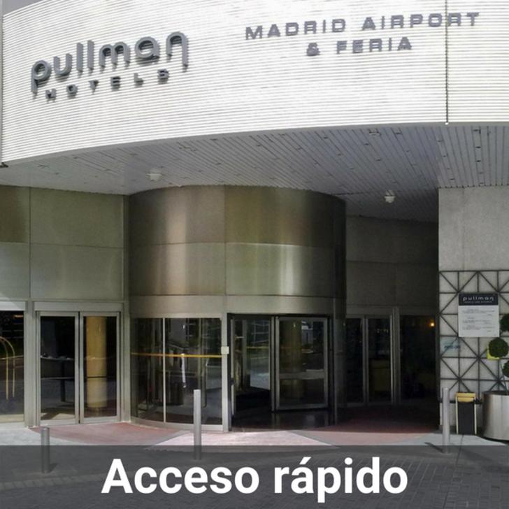 Parque de estacionamento Estacionamento Hotel PULLMAN MADRID AIRPORT & FERIA (Coberto) Madrid