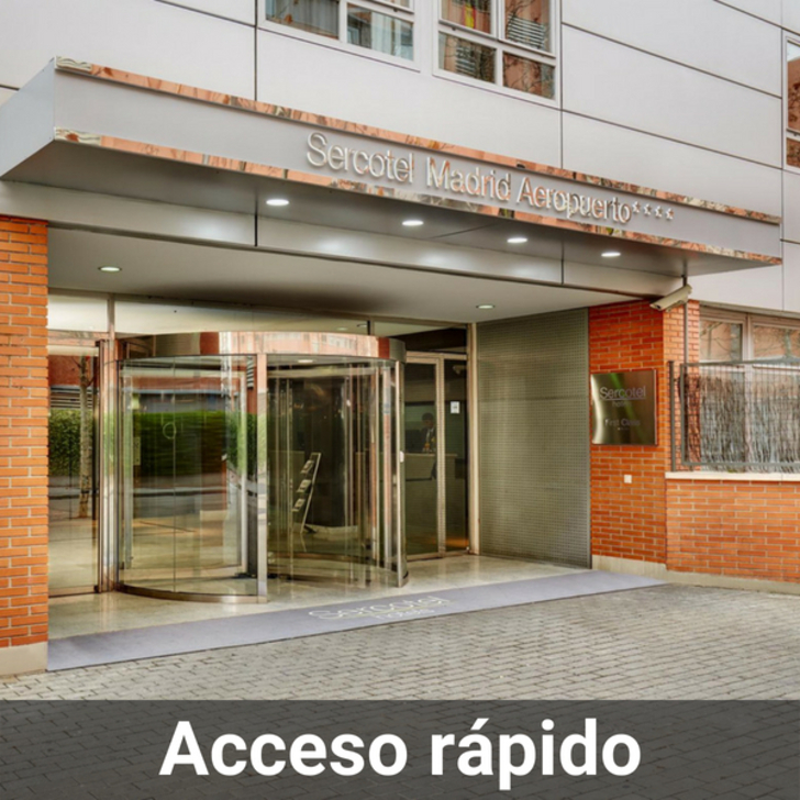 SERCOTEL MADRID AEROPUERTO Hotel Parking (Overdekt) Parkeergarage Madrid