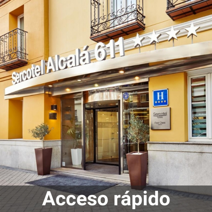 SERCOTEL ALCALÁ 611 Hotel Parking (Overdekt) Madrid