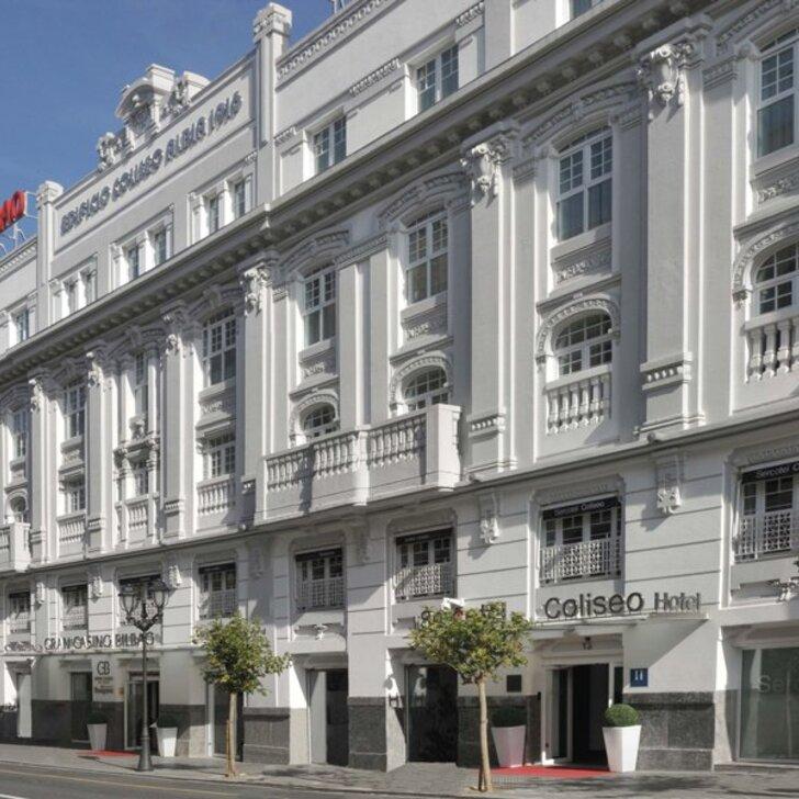 SERCOTEL COLISEO BILBAO Hotel Parking (Overdekt) Parkeergarage Bilbao