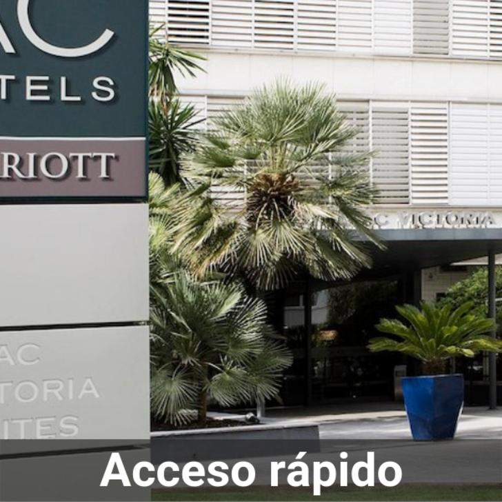 Parking Hôtel AC HOTEL BY MARRIOTT VICTORIA SUITES (Couvert) Barcelona
