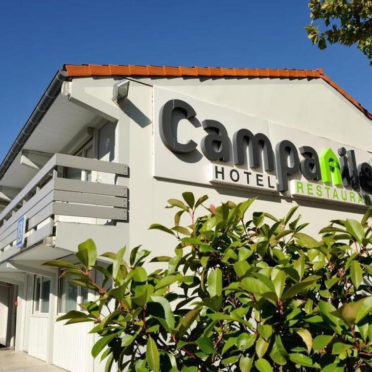 Hotel Parkhaus CAMPANILE TOULOUSE - BLAGNAC AÉROPORT (Extern) Blagnac