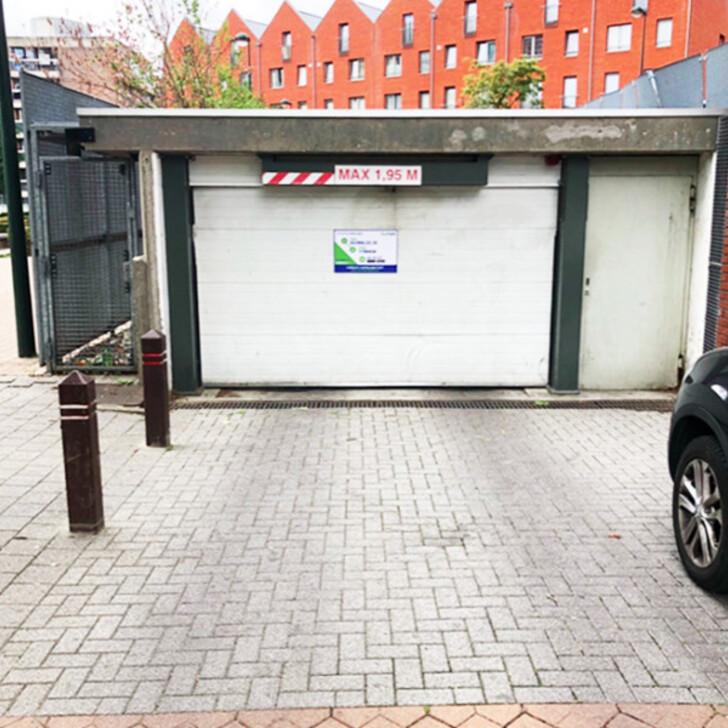 Parking Public BEPARK GARE DE BRUXELLES-OUEST (Couvert) Molenbeek-Saint-Jean