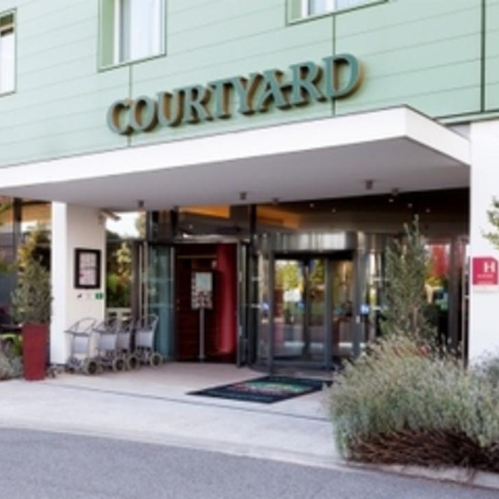 Parque de estacionamento Parking Hôtel COURTYARD TOULOUSE AIRPORT (Extérieur) Toulouse