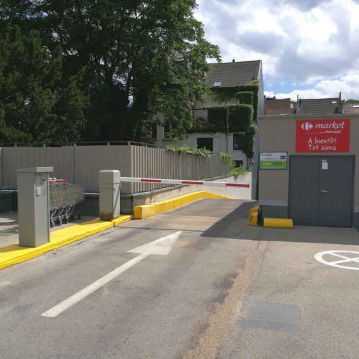 Parcheggio Pubblico BEPARK UCCLE VANDERKINDERE (Esterno) parcheggio Uccle