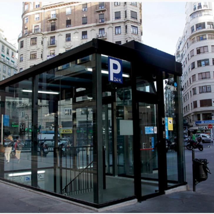 Öffentliches Parkhaus AVENIDA DEL OESTE (Überdacht) Parkhaus Valencia