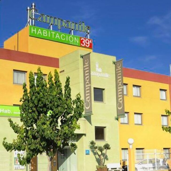 CAMPANILE MURCIA Hotel Parking (Overdekt) Espinardo, Murcia