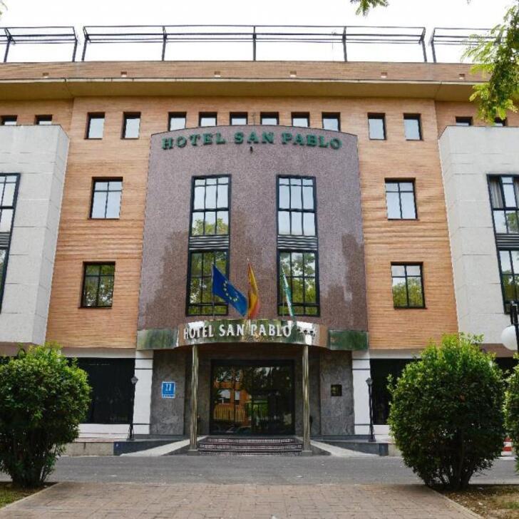 SAN PABLO SEVILLA Hotel Parking (Overdekt) Parkeergarage Sevilla