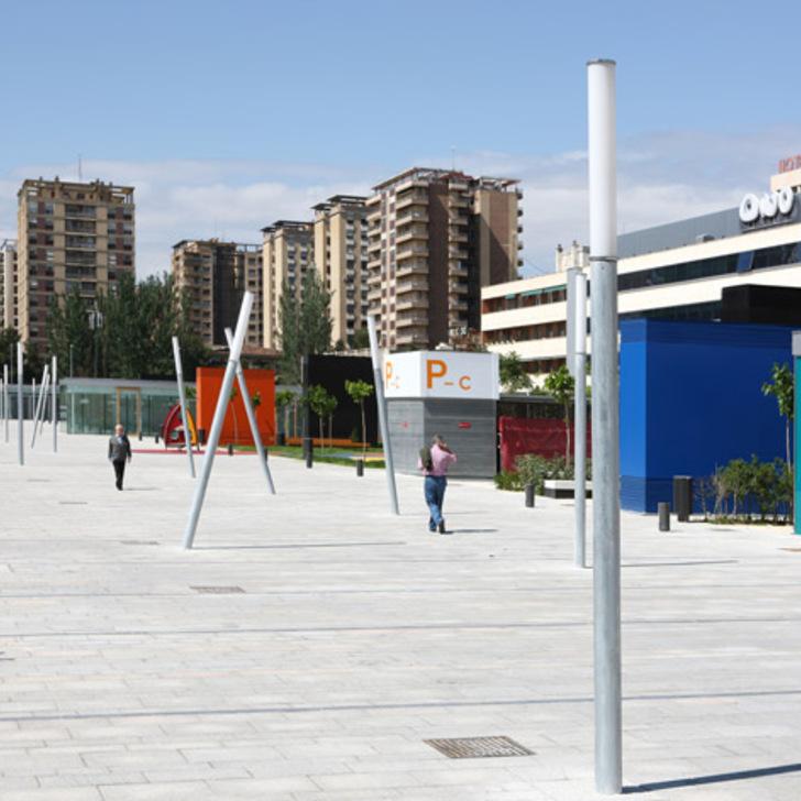 Öffentliches Parkhaus IC EDUARDO IBARRA (Überdacht) Zaragoza