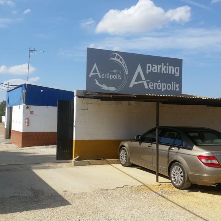 Parcheggio Low Cost AERÓPOLIS (Esterno) parcheggio Sevilla