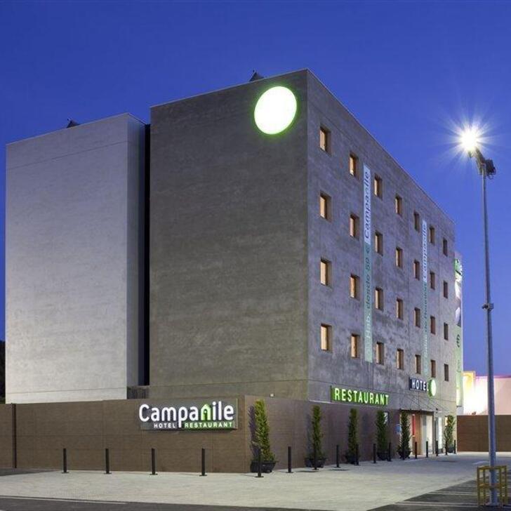 CAMPANILE MÁLAGA AIRPORT Hotel Parking (Exterieur) Parkeergarage Málaga
