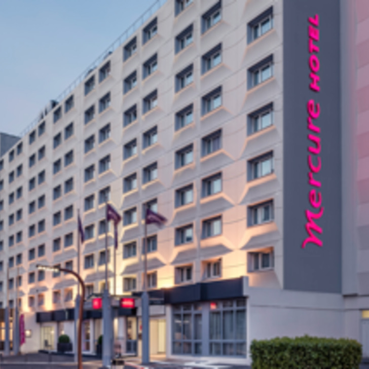 Parking Hotel MERCURE PARIS PORTE D'ORLÉANS (Cubierto) Montrouge