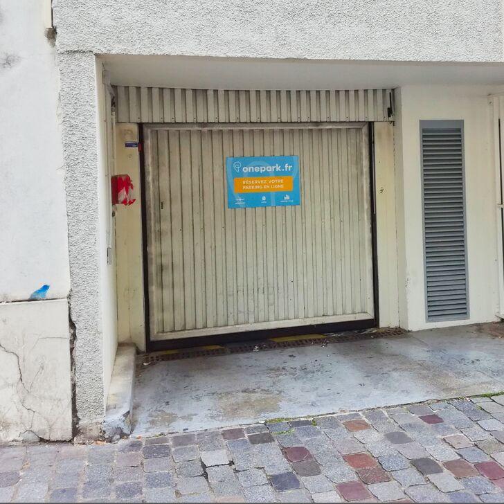 Privatgelände Parkplatz RUE DAMESME (Überdacht) Paris
