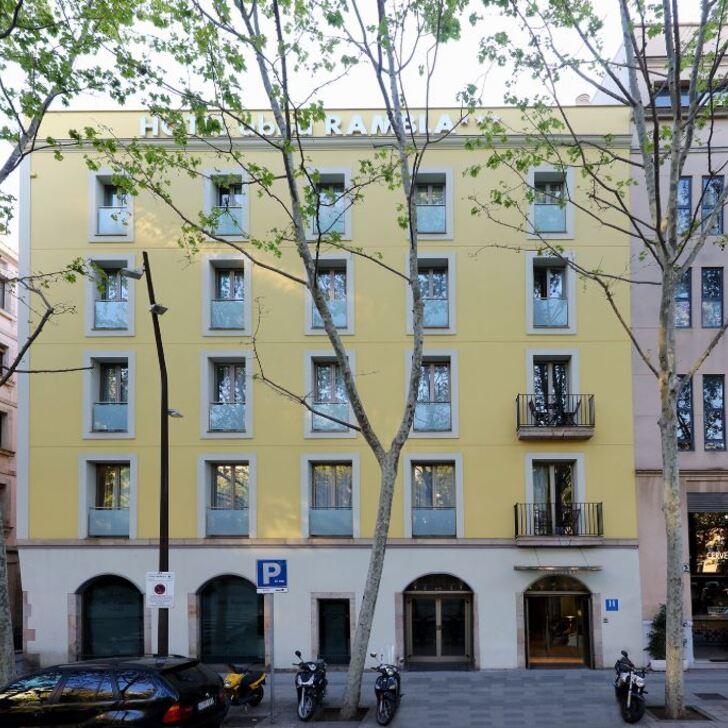 Parque de estacionamento Parking Hôtel ABBA RAMBLA (Couvert) Barcelona