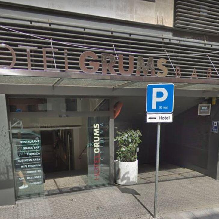 GRUMS Hotel Car Park (Covered) car park Barcelona