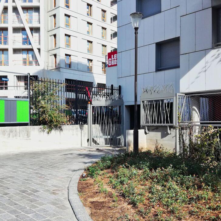 Privatgelände Parkplatz IMPASSE DU GUÉ (Überdacht) Paris