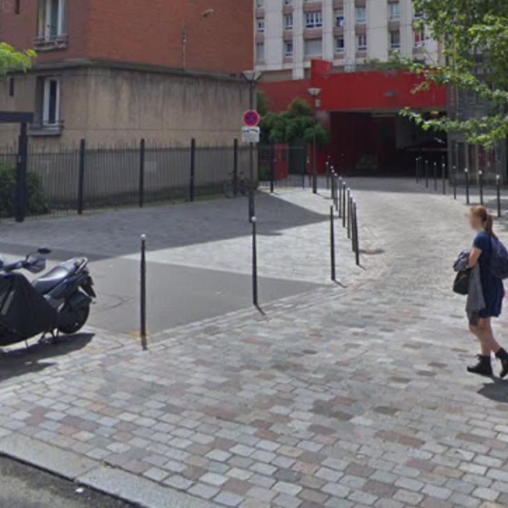 Privatgelände Parkplatz RUE NATIONALE (Überdacht) Paris