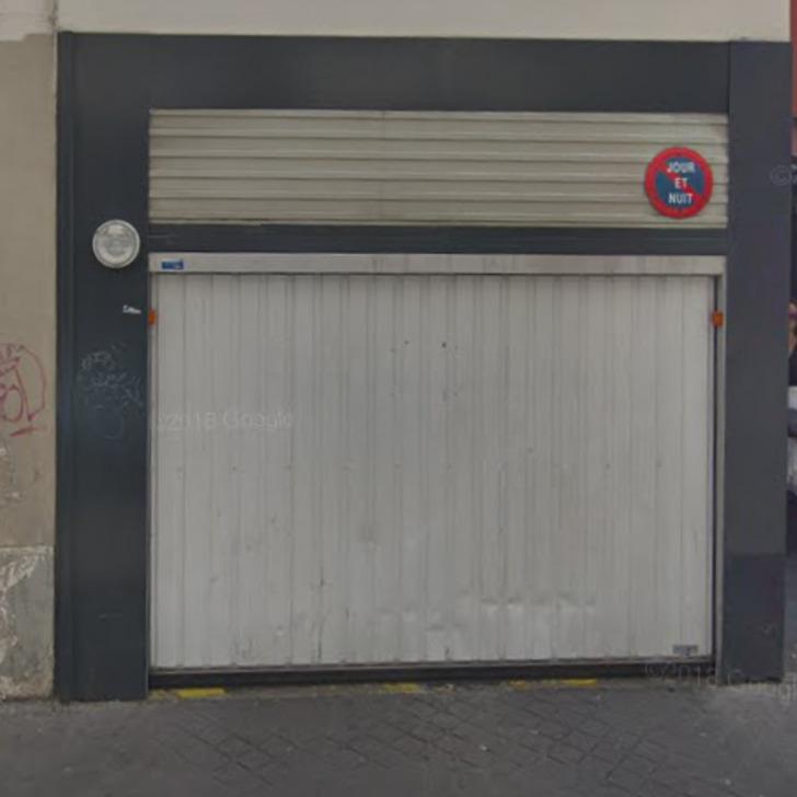 Privatgelände Parkplatz RUE VANDREZANNE (Überdacht) Paris