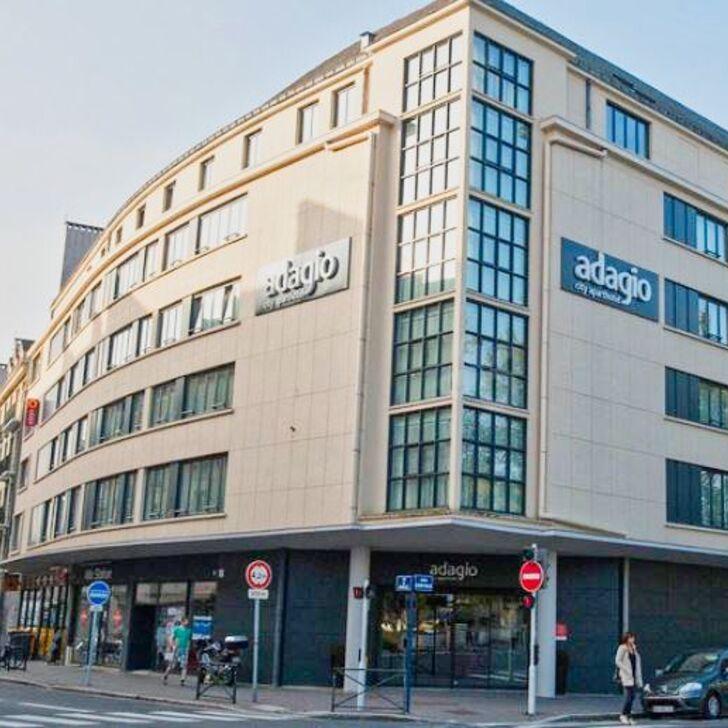 Parking Hôtel ADAGIO CAEN CENTRE (Extérieur) Caen