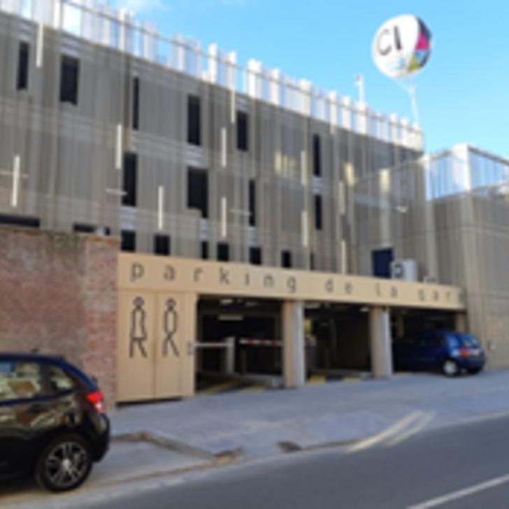 Öffentliches Parkhaus PARCOGEST GARE (Überdacht) Parkhaus Roubaix