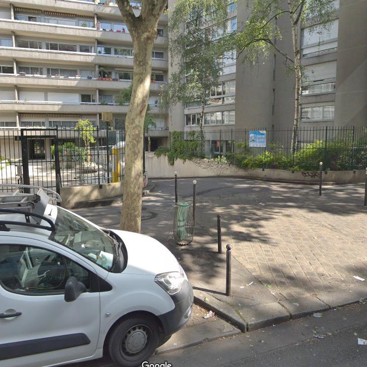 Privatgelände Parkplatz RUE POLIVEAU (Überdacht) Parkhaus Paris
