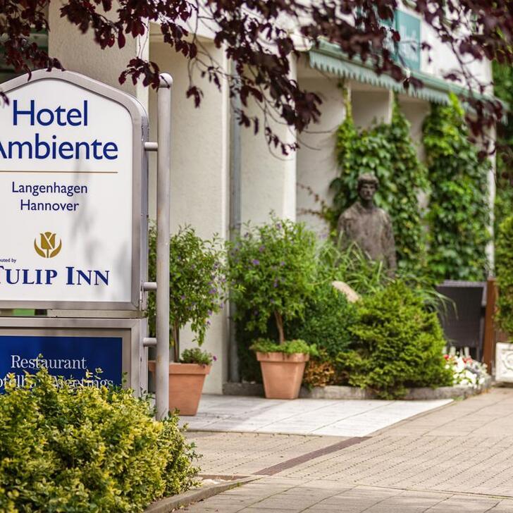 Hotel Parkplatz HOTEL AMBIENTE BY TULIP INN (Überdacht) Parkhaus Langenhagen
