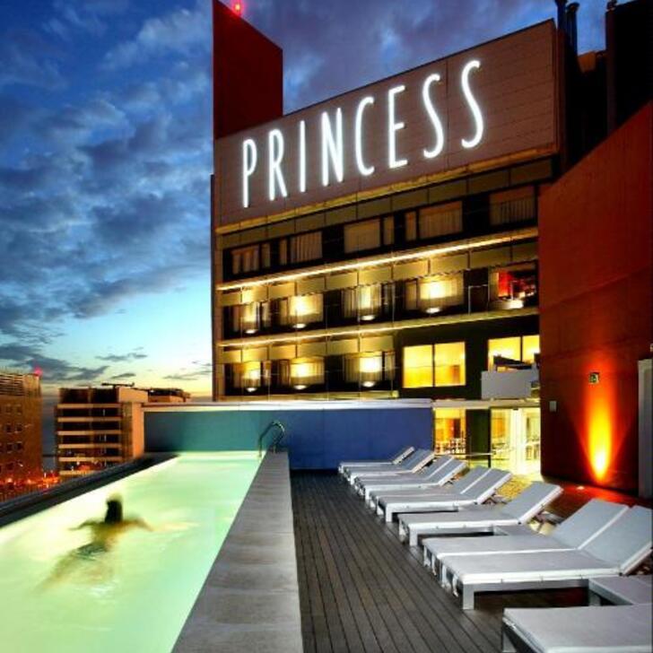 Parcheggio Hotel BARCELONA PRINCESS (Coperto) Barcelona