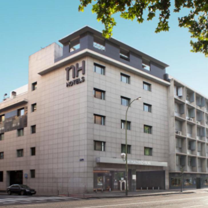 Hotel Parkhaus NH MADRID SUR (Überdacht) Parkhaus Madrid