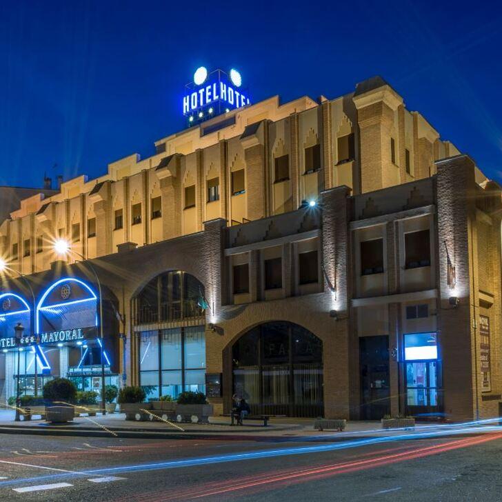Parking Hôtel ZENTRAL MAYORAL (Couvert) Toledo
