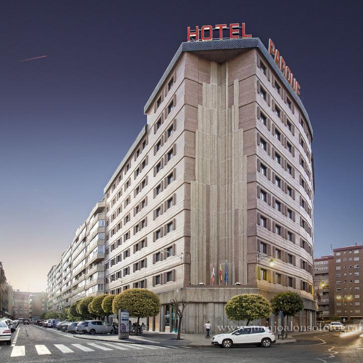 Parking Hôtel ZENTRAL PARQUE (Couvert) Valladolid