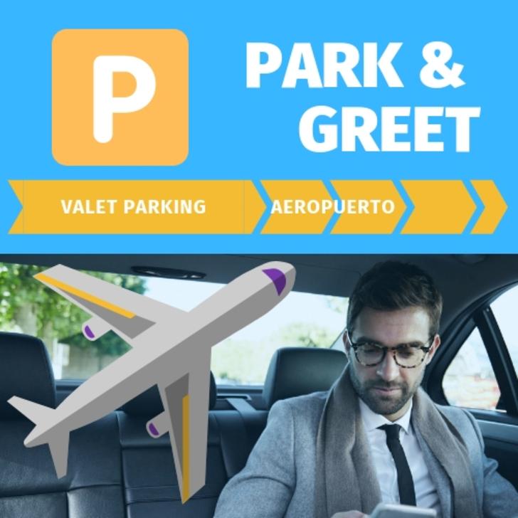 Parkservice Parkhaus PARK AND GREET (Überdacht) El Prat de Llobregat