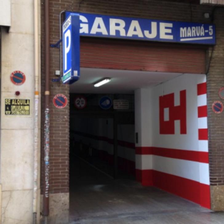 Öffentliches Parkhaus GARAJE MARVÁ 5 (Überdacht) Valencia