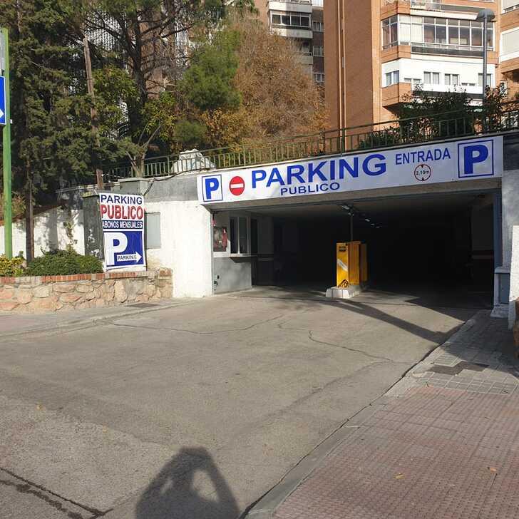 MANOTERAS Openbare Parking (Overdekt) Madrid