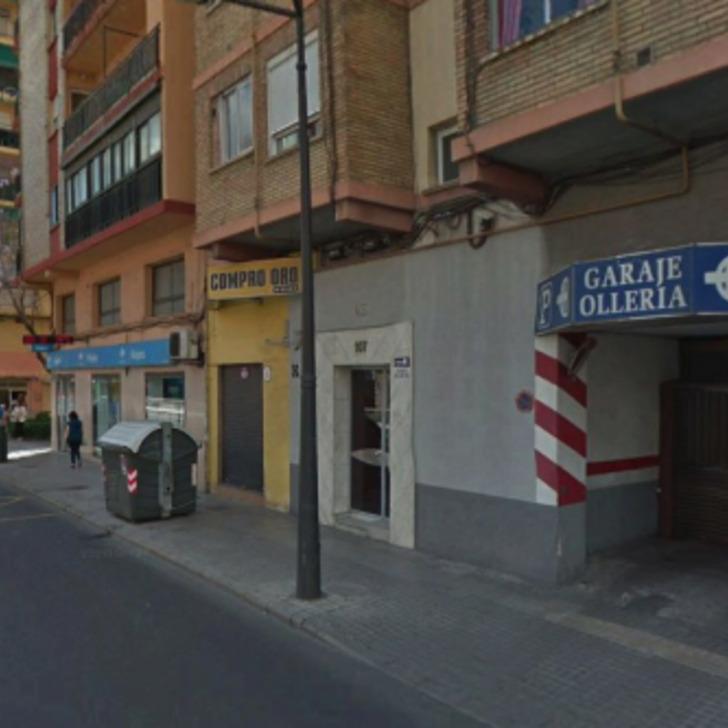 Öffentliches Parkhaus OLLERIA VALENCIA (Überdacht) Valencia