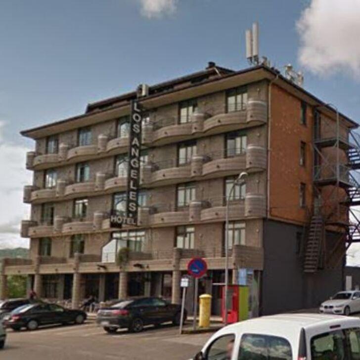 SERCOTEL LOS ÁNGELES Hotel Parking (Exterieur) Guarnizo