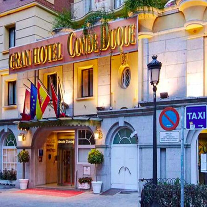 Parking Hotel SERCOTEL GRAN HOTEL CONDE DUQUE (Cubierto) Madrid