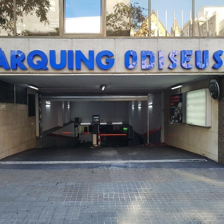 Öffentliches Parkhaus ODISEUS (Überdacht) Barcelona