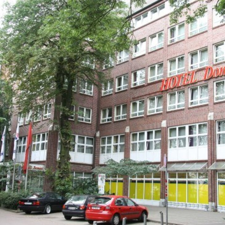 HOTEL DOMICIL HAMBURG BY GOLDEN TULIP Hotel Car Park (Covered) car park Hamburg