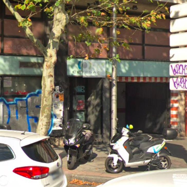 Öffentliches Parkhaus LAVPARKING (Überdacht) Parkhaus Madrid