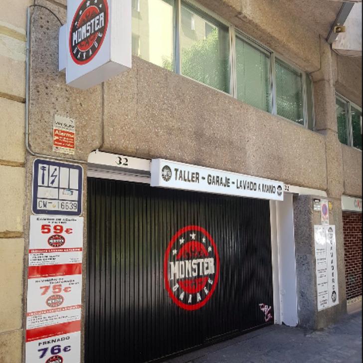 Parking Público GARAJE MONSTER (Cubierto) Madrid