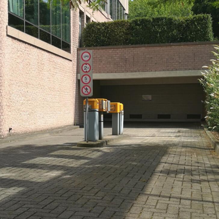 Parking Public BEPARK GARE D'ETTERBEECK (PLAINE) (Couvert) Ixelles