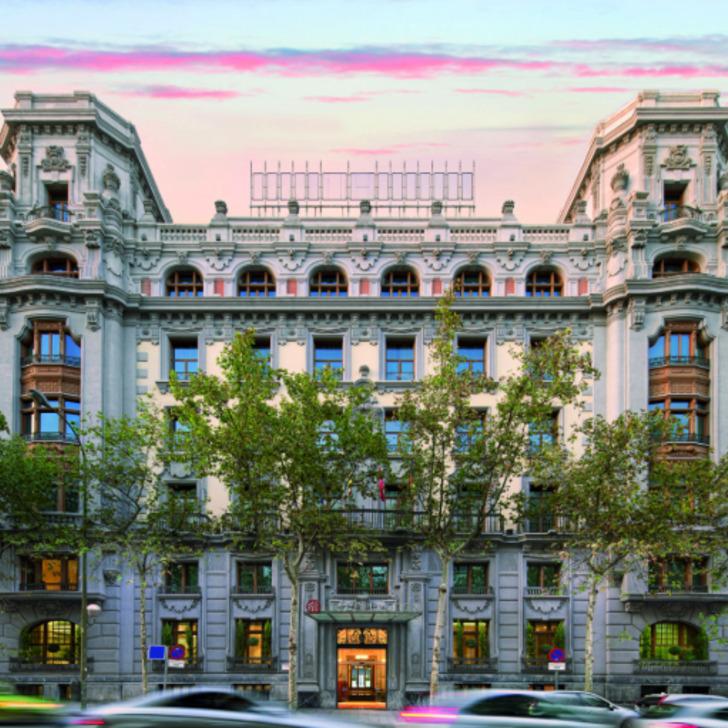 Parque de estacionamento Estacionamento Hotel NH COLLECTION MADRID ABASCAL (Coberto) Madrid