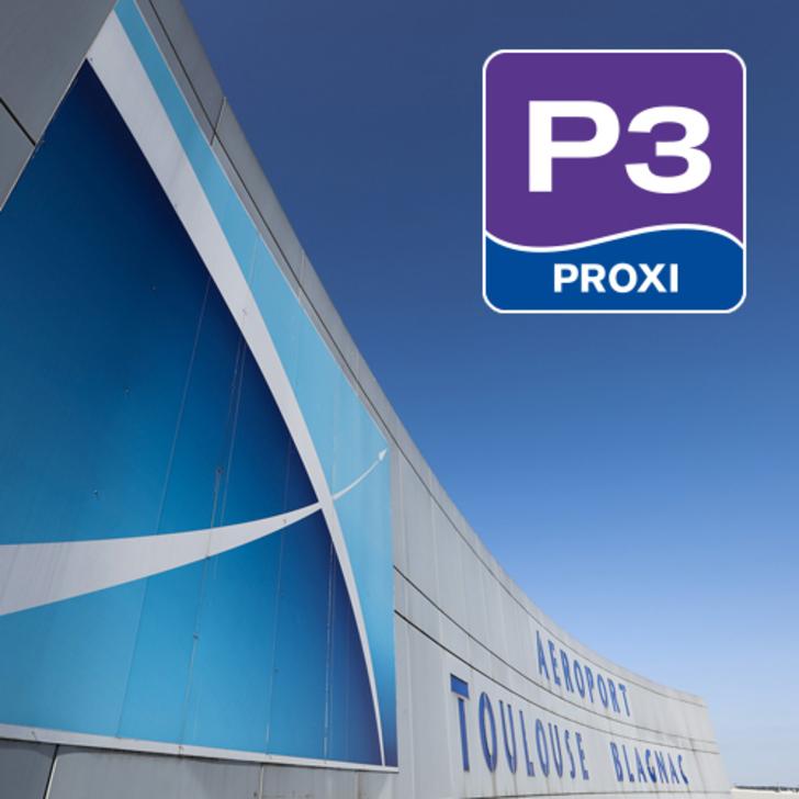Offiziell Parkhaus P3 - AÉROPORT TOULOUSE-BLAGNAC (Extern) Blagnac