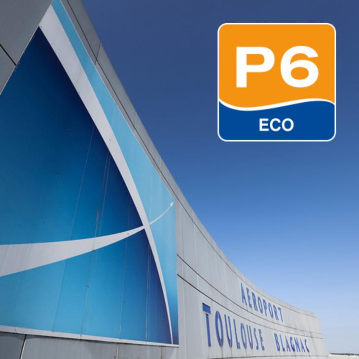 Parque de estacionamento Parking Officiel AÉROPORT TOULOUSE-BLAGNAC - P6 (Extérieur) Blagnac