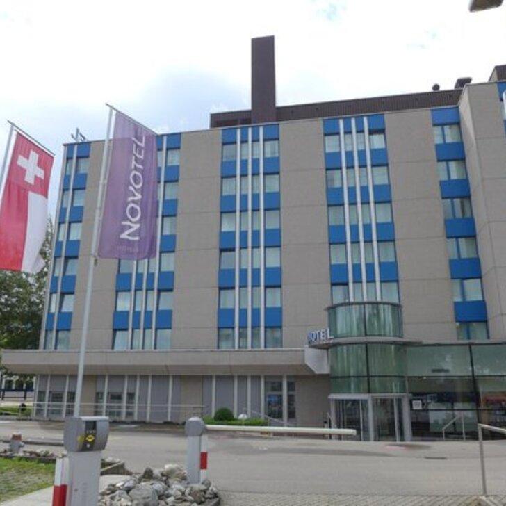 NOVOTEL ZÜRICH AIRPORT Hotel Car Park (External) car park Opfikon